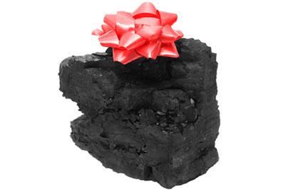 Lump of Coal Drawing a Classic Lump of Coal